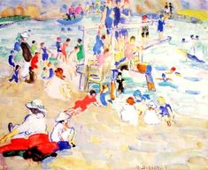Alice Schille, Children's Beach 1917-18