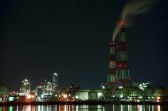 堺泉北臨海工業地帯  Sakai Senboku Coastal Industrial Area, Osaka, Japan