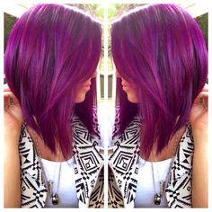 Love this Bob!!!!!! Maar niet het paarse haar