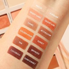 Sunset Heated Shadows Palette - MakeupMekka Shadows, Deserts, Palette, Sunset, Makeup, Make Up, Darkness, Postres, Pallets