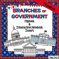 Branches of Government Flip Book 3rd Grade Social Studies, Social Studies Resources, Teaching Social Studies, Student Teaching, Teaching Government, Teaching Us History, Branches Of Government, Character Education, 3 Branches