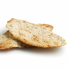 Parmesan-Rosemary Flatbread Crackers - Healthy Snack Recipes - Cooking Light