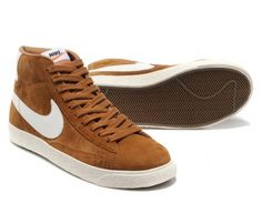 Nike Blazers Vintage High (Brown / White)