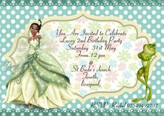 A: All our invitations are printed single sided on glossy Photo card with a glossy photo finish. Personalised Party Invitations, Birthday Party Invitations, Invitation Cards, Invites, Disney Princess Tiana, A6 Size, Print Fonts, 2nd Birthday Parties, Photo Cards