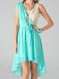 Mint and Loving Lace Dress