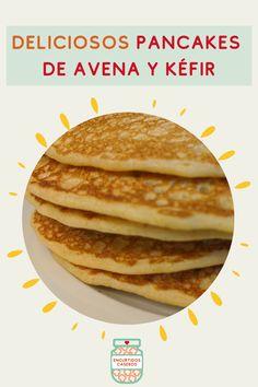 🥞Los pancakes son uno de los desayunos favoritos de muchas familias y alrededor del mundo cada quien tiene su receta. Hoy te comparto la mía, que además de deliciosa es muy nutritiva pues contiene kéfir de leche, avena y mijo. Guarda este pin! #recetassaludables #recetasconkefir #pancakesdeavena #hotcakesdeavena #desayunosaludable #desayunodelicioso #encurtidoscaseros #RecetadeEncurtidosCaseros #avena #recetasconavena #desayunosconavena #harinadeavena #kefirdeleche #kefir… Waffles, Pancakes, Breakfast, Food, The World, Breakfast Healthy, Health Foods, Homemade Pickles, Families