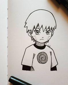 Naruto Sketch Drawing, Naruto Drawings, Art Drawings Sketches Simple, Anime Girl Drawings, Anime Sketch, Manga Drawing, Manga Art, Cute Drawings, Anime Art