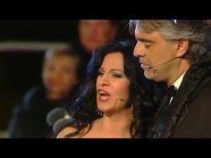 Angela Gheorghiu and Andrea Bocelli sing  Musica proibita