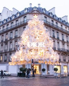 Paris is always magical, but the nickname City of Lights takes on a whole new meaning.If you're looking for the prettiest Christmas decorations in Paris. Christmas In Paris, Christmas Mood, Christmas Lights, Christmas Decorations, Holiday Decor, Christmas Travel, Christmas Scenes, Holiday Lights, Country Christmas