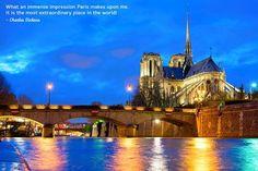 What part of Paris do you find to be the most extraordinary? barretttravel.globaltravel.com pamelabarrett22@gmail.com