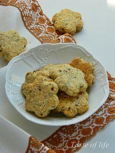 Taste of life: Kukuruzni krekeri sa ovsenim pahuljicama