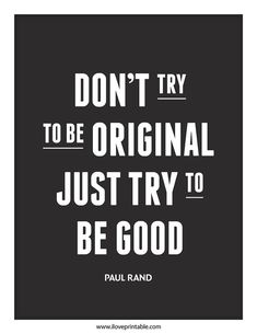 Just try to be Good. #iloverintable #typography #art in Printable Art : Inspiration & Motivational Quote