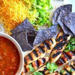 Colorful recipe!!!! honey jalapeño chicken tenderloin tacos