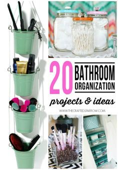 Bathroom Organizing Ideas great organizing ideas for your bathroom! cabinet bathroom