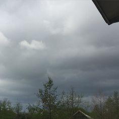 Rain? I live in hope.