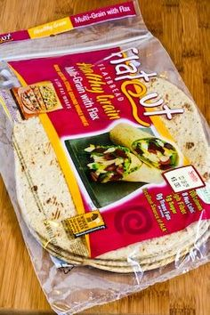 Kalyn's Kitchen®: Recipe for Delicious and South Beach Diet Friendly Flatbread Pizza to Make at Home