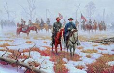 "WAR IS SO TERRIBLE by Mort Kunstler. ""It is well that war is so terrible, - we should grow too fond of it."" These were the words spoken by General Robert E. Lee to his ""Old War Horse"" James Longstreet after the Battle of Fredericksburg on December 13, 1862. They sum up the character of the man in one sentence. In spite of the great victory he had just gained, he never lost sight of the horrors of war."