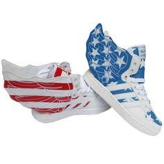 women/men's Sneakers wing hip-hop shoes leather flats US5-US11