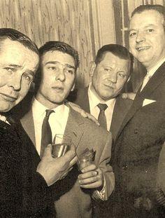 Reg Kray with friends