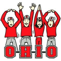 Victory Postcards NCAA Ohio State Buckeyes Letters People Car Magnet, x Ohio State University, Ohio State Buckeyes, The Buckeye State, Buckeyes Football, Ohio State Football, Ohio State Wallpaper, My Ohio, Cincinnati, Victorious