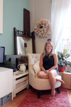 Love her studio apartment