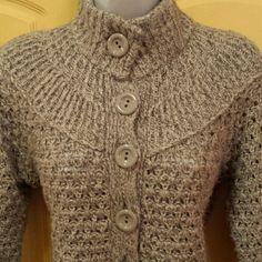 Elegant Sweater Light Gray Ann Taylor Sweater - Good condition  Viscose + Nylon + Cotton Ann Taylor Sweaters