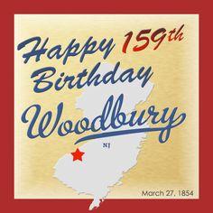 Woodbury was originally formed as a borough on March 27, 1854.