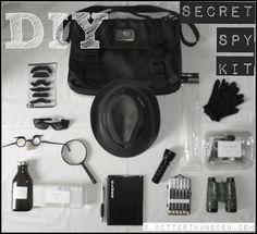 Better Than Eden: A DIY Secret Spy Kit