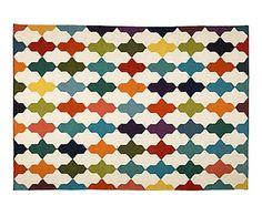 Kilim tejido a mano en lana Aini - 200x140 cm