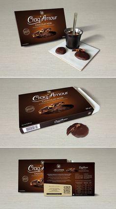Packaging du Craq'Amour - Biscuiterie de Bretagne