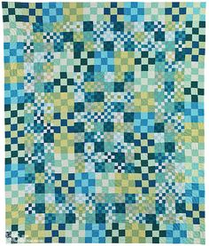 Beautiful Building Block Quilts, Create Improvisational Quilts from One Block • 8 Projects • Tips on Color and 4 Bonus Projects by Lisa Walton for C Publishing