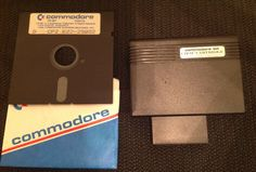 Commodore CP/M Cartridge and disk for Commodore 64