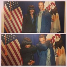 Photo by kaepernick7 with Michelle Obama