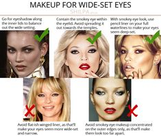 What's Your Eye Shape + Best Makeup for Your Eye Shape - Shilpa Ahuja Eye Shape Makeup, Sexy Eye Makeup, Hooded Eye Makeup, Colorful Eye Makeup, Simple Eye Makeup, Eye Makeup Tips, Normal Makeup, Makeup Stuff, Makeup Tricks
