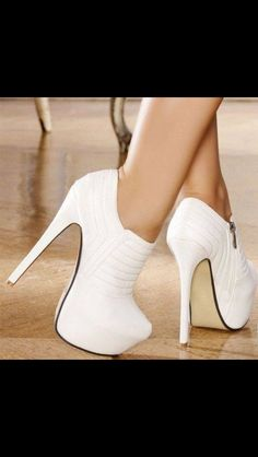 0425c9b5a6c63 Trendy High Heels For Ladies   Escarpins women white heels 15 cm size 35  www.