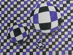 a good intro to op art Op Art Lessons, Art Lessons Elementary, Illusion Kunst, Illusion Art, Opt Art, 8th Grade Art, School Art Projects, Math Projects, School Ideas