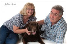 Pet photos with Max the Chocolate brown Lab