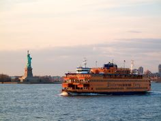 Everyone has to ride the Staten Island Ferry. It's free, the view is great, and you can drink beer on board. Or, if you're up for a longer trip, take the MTA ferry to Sunset Park or the Rockaways for $2. Check the schedule beforehand, since those ferries run only a few times a day during the week.
