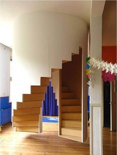 Inside-out stairs