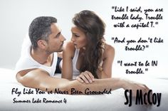 Fly Like You've Never Been Grounded by SJ McCoy teaser by Dana @ Red Cheeks Reads