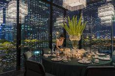 Four Seasons Luxury Hotel Pudong - Shanghai, China New Chinese Restaurant, Exterior Design, Interior And Exterior, Shanghai Hotels, Private Dining Room, City Restaurants, Coffee Shop Design, Four Seasons Hotel, Master Bedroom Design