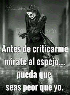 Antes de criticar...