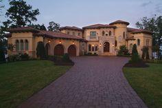 Luxury Mediterranean Homes | ... Luxury House Plans from The House Designers | The House Designers Blog