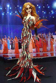 OOAK Barbie NiniMomo's Miss New York 2007