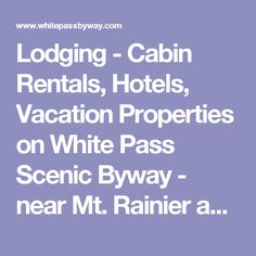 41 best dreaming of travel images on pinterest hawaii for Rental cabins near mt st helens
