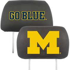 University of Michigan Headrest Covers
