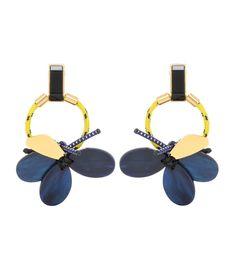 Marni - Beaded clip-on earrings   mytheresa.com