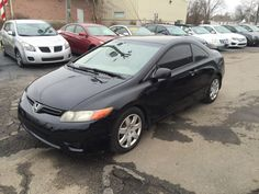 2006 Honda Civic LX 2dr Coupe w/Manual  #Honda #MrAuto #Hamilton #Ohio #UsedCars