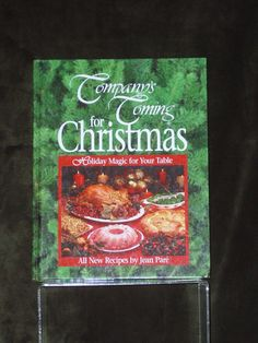 Company's Coming, for Christmas, Jean Pare, Christmas Cookbook, Vintage Cookbook, Cookbook Series, Holiday Cookbook, Christmas Cookies by HeyJudeCollection on Etsy