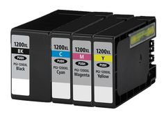 Buy PGI1200XL Ink Cartridge 4PK - BCMY for Canon at Houseoftoners.com. We offer to save 30-70% on ink and toner cartridges. 100% Satisfaction Guarantee.